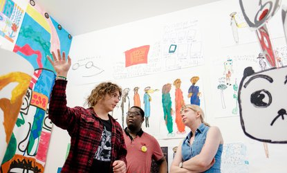 Heart n Soul: Alexi directs the young artists takeover at Could be Good Studios Deptford