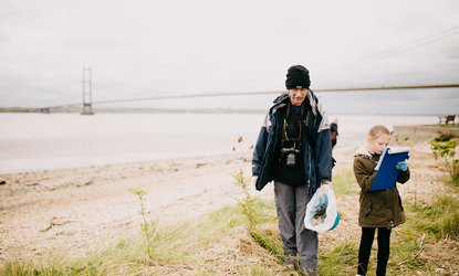 The Deep Hessle Foreshore Beach Clean